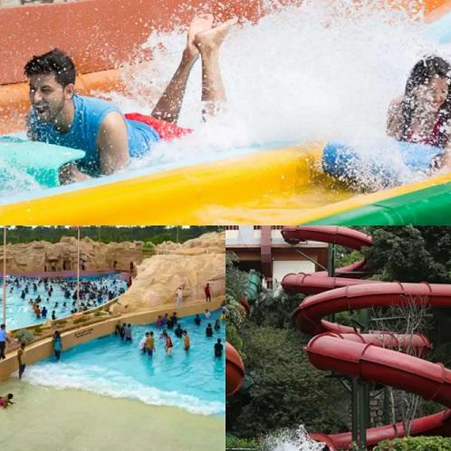 Wonderla Hyderabad Water Rides