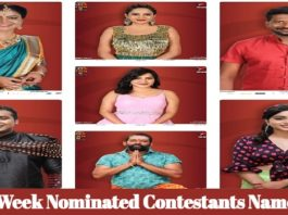 Bigg Boss Telugu Vote - 5th Week Nominated Names