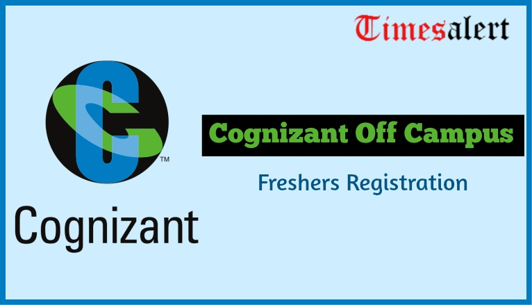 Cognizant Off Campus Registration