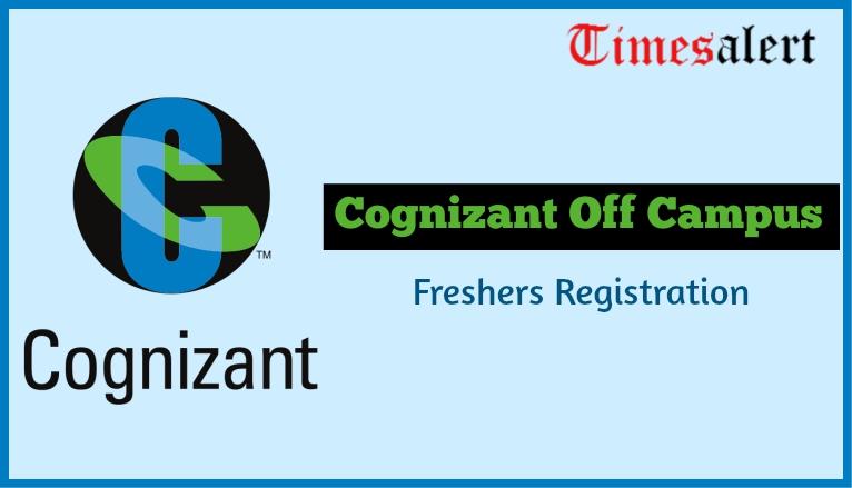 Cognizant Off Campus Registration