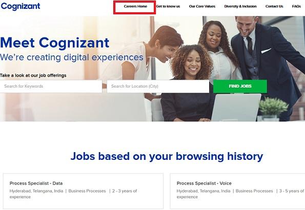 Cognizant Registration Freshers