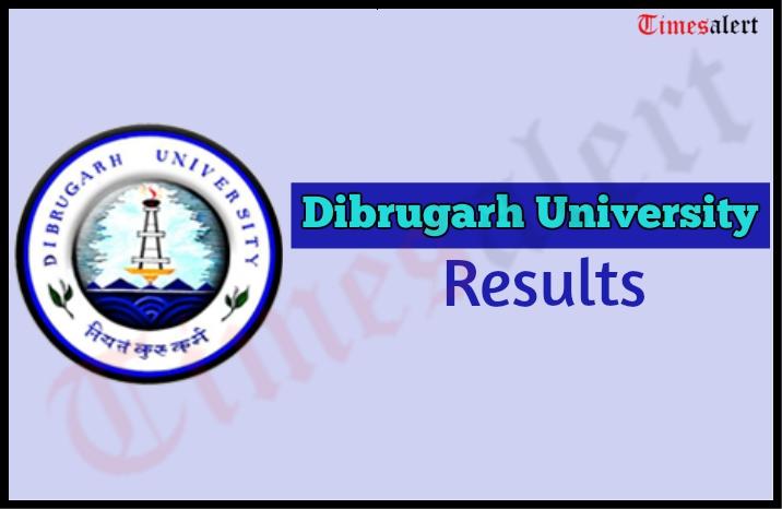 Dibrugarh University Results