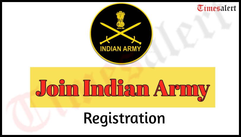 Join Indian Army Registration
