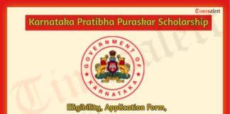 Karnataka Pratibha Puraskar Scholarship