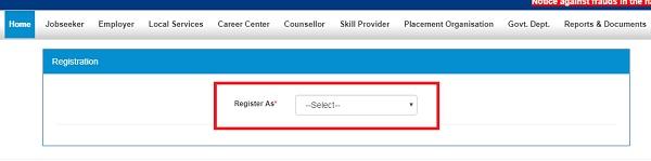 NCS Registration Register