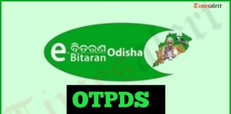 OTPDS Odisha Ration Card