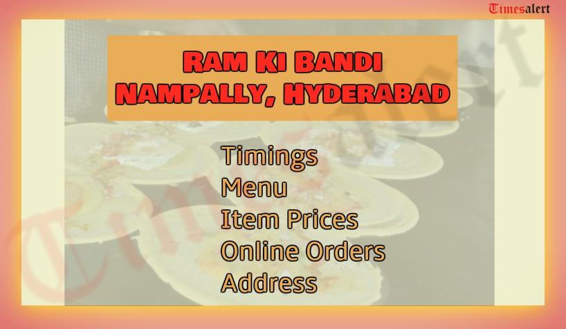 Ram Ki Bandi Nampally