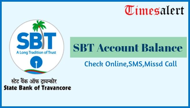 SBT Account Balance