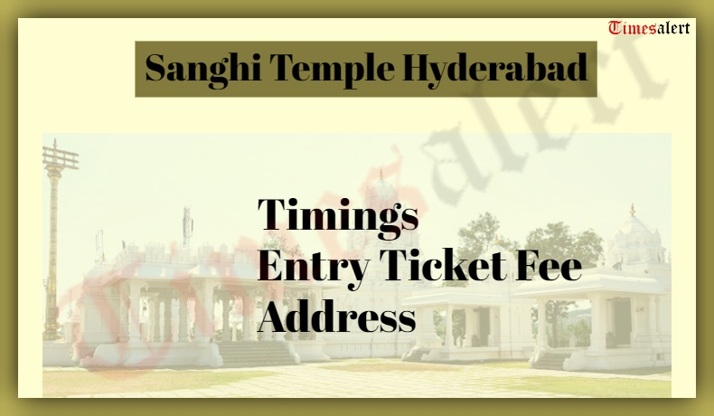 Sanghi Temple Hyderabad