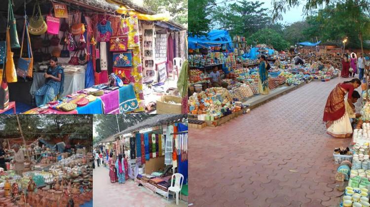 Shopping in shilparamam