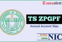 TS ZPGPF Annual Account Slips