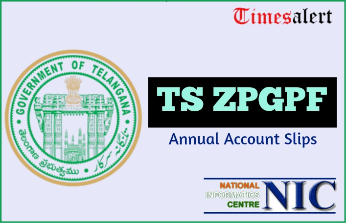 TS ZPGPF Annual Account Slips