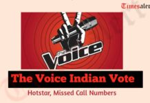 The Voice Indian Vote