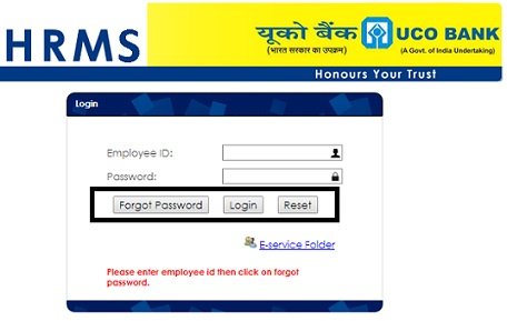 UCO HRMS Login