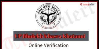 UP Bhulekh Khasra Khatauni