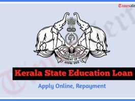Kerala State Education Loan