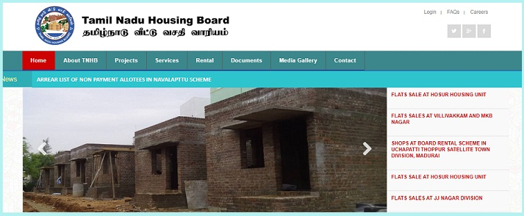 TNHB scheme Chennai