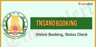 Tamilnadu Tnsand Booking Online