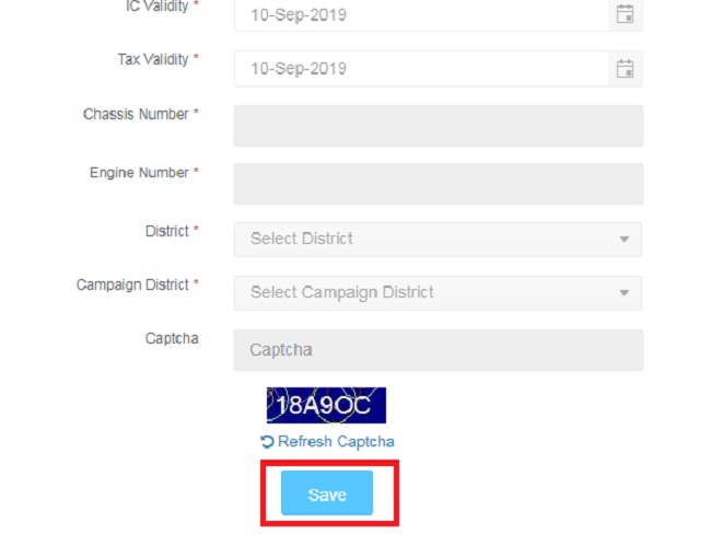 Tnsand Sand Booking vehicle register
