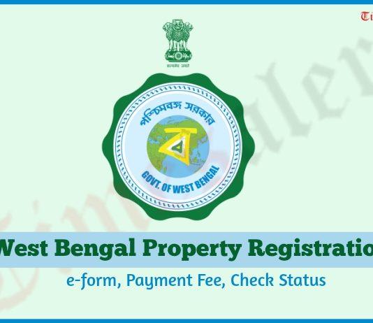 West Bengal Property e-form