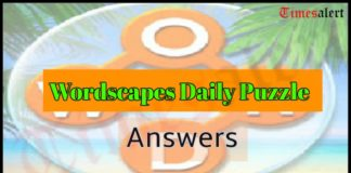 WordscapesDailyPuzzle