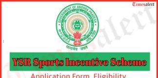 YSR Sports Incentive Scheme