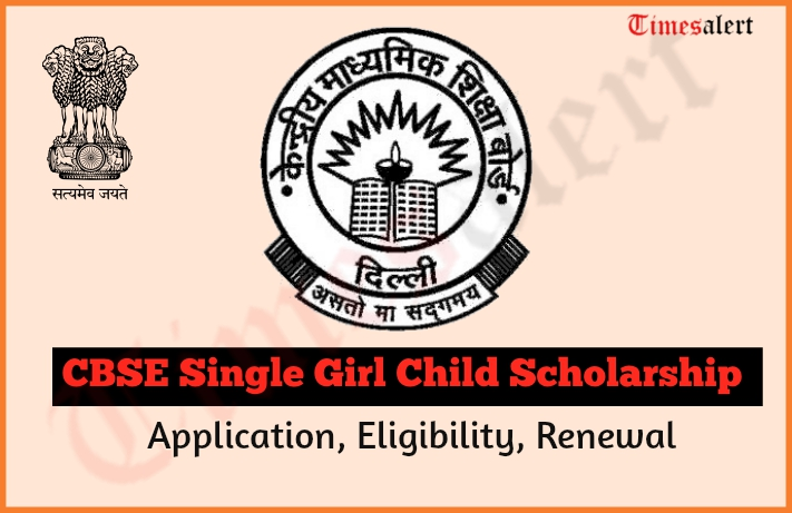 CBSE Single Girl Child Free Education