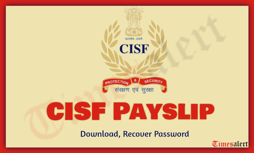 CISF Payslip