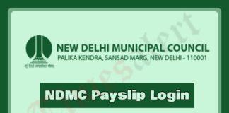NDMC Payslip