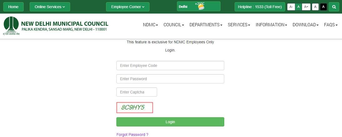 NDMC Portal