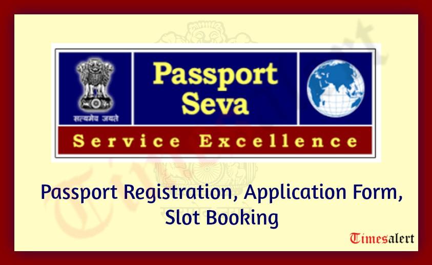 Passport Slot Booking Online