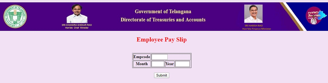 TS Employee Pay Slip