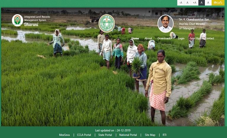 Dharani Land Records Portal