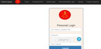 Hamraaz web login