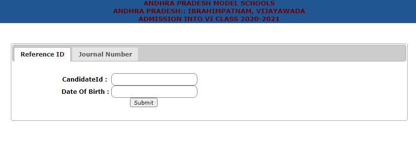 APMS Application Form