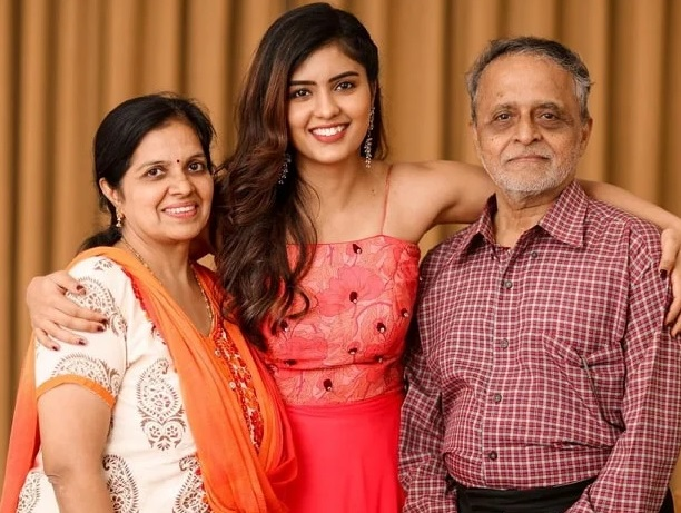 Amritha Aiyer Family