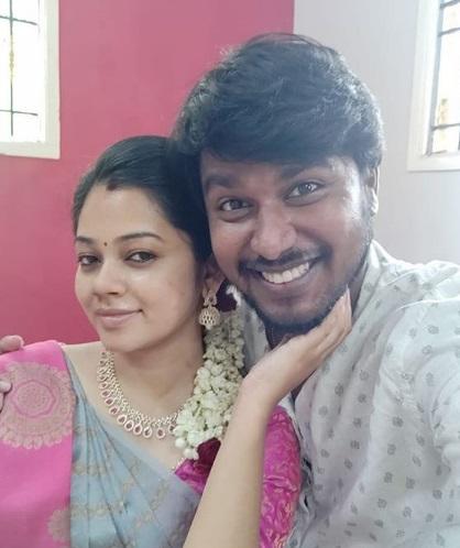 Anitha Sampath Husband
