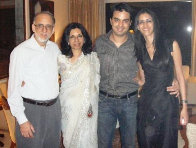 Gautam kitchlu Family