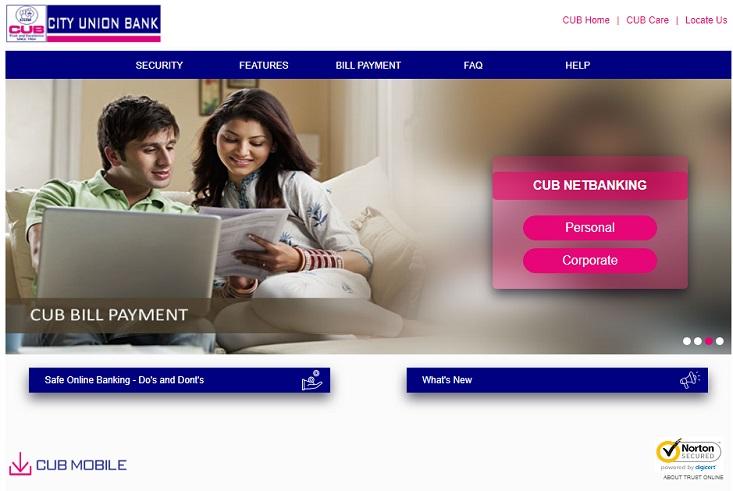 CUB Net Banking