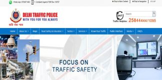 Delhi Traffic Police Challan pay