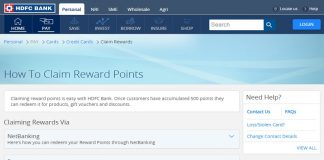 HDFC Credit Card Points