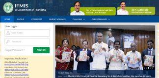 IFMIS Rythu Bandhu Scheme