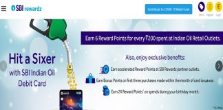 SBI reward Points