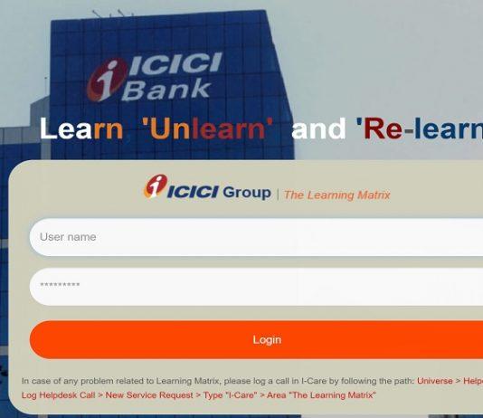 ICICI Learning Matrix